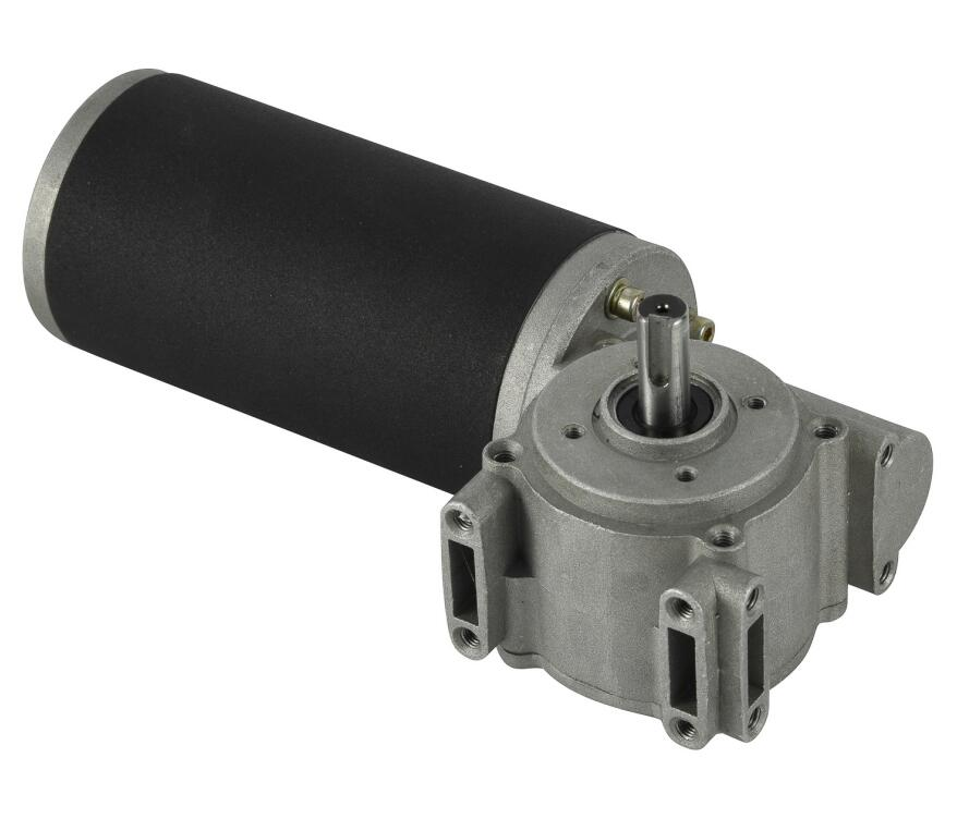 90mm DC Worm Gear Motor