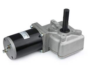 89mm DC Worm Gear Motor